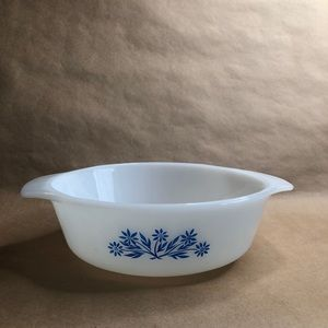 Fire King Cornflower Blue Casserole Dish 1…